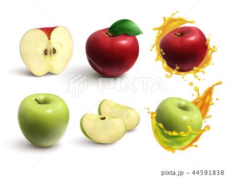 Apples Realistic Set 44591838