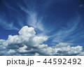入道雲のバックグラウンド 44592492