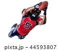 american football player man isolated 44593807