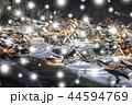 【岐阜県】冬の白川郷 ライトアップ 44594769