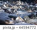 【岐阜県】冬の白川郷 ライトアップ 44594772