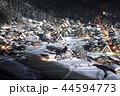 【岐阜県】冬の白川郷 ライトアップ 44594773