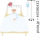 病気・けがの入院イラスト 44596432