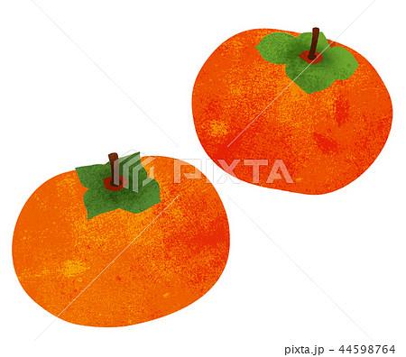柿 イラストのイラスト素材 44598764 Pixta