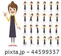 女性 セット ベクターのイラスト 44599337