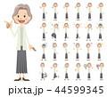 女性 セット バリエーションのイラスト 44599345