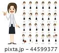 女性 セット バリエーションのイラスト 44599377