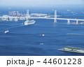 出航 横浜ベイブリッジ 海の写真 44601228