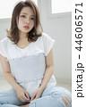 女性 ヘアスタイル 女の子の写真 44606571