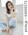 女性 ヘアスタイル 女の子の写真 44606573