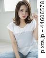 女性 ヘアスタイル 女の子の写真 44606578