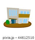 住宅 ベクター 家のイラスト 44612510