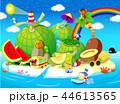 フルーツ 果物 旅行のイラスト 44613565