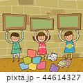 アルファベット 子供 カラフルのイラスト 44614327