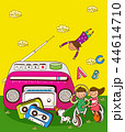 アルファベット 子供 教育のイラスト 44614710