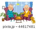 노인,은퇴,일러스트 44617481