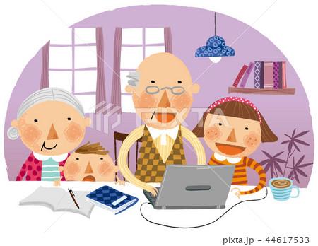 家族 ファミリー 祖父 44617533