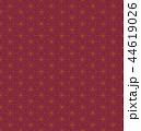 和柄 模様 パターンのイラスト 44619026