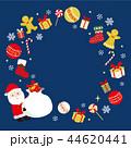 クリスマス サンタ サンタクロースのイラスト 44620441