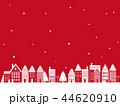 クリスマス 町並み背景 44620910