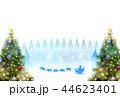 亥 クリスマス サンタクロースのイラスト 44623401
