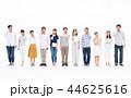 スマホ 人々 携帯の写真 44625616