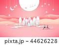 そり 橇 クリスマスのイラスト 44626228