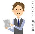 男性 若い ベクターのイラスト 44626984