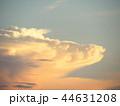 日暮れ 夕暮れ 雲の写真 44631208