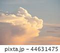 日暮れ 夕暮れ 雲の写真 44631475