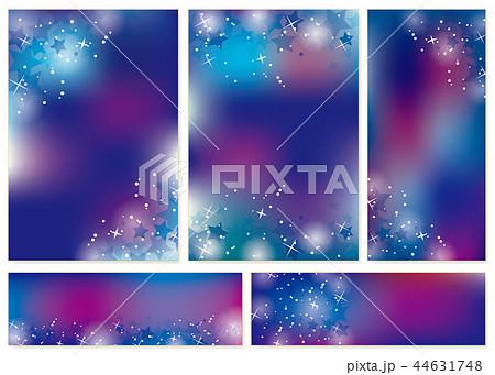 星のカードセット 44631748