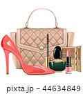 化粧品 メイクアップ 化粧のイラスト 44634849