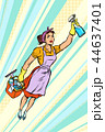 スーパーヒーロー 女性 サービスのイラスト 44637401