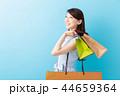 女性 買い物 ショッピングの写真 44659364