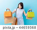 買い物 ショッピング ショッピングバッグの写真 44659368