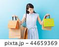 買い物 ショッピング ショッピングバッグの写真 44659369