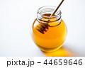 蜂蜜 蜜 ガラス瓶の写真 44659646