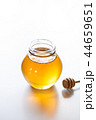 蜂蜜 蜜 ガラス瓶の写真 44659651