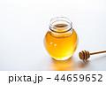 蜂蜜 蜜 ガラス瓶の写真 44659652