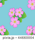 Seamless floral pattern with tropical flowers. 44660004