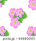 Seamless floral pattern with tropical flowers. 44660005