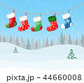クリスマス 吊るす ハンギングのイラスト 44660008