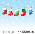 靴下 クリスマス 吊るすのイラスト 44660010