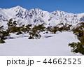 白馬 冬 雪山の写真 44662525