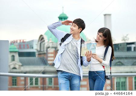 韓国人 韓国の人 旅行 44664164