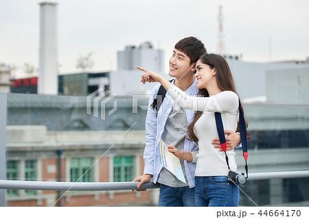 韓国人 韓国の人 旅行 44664170