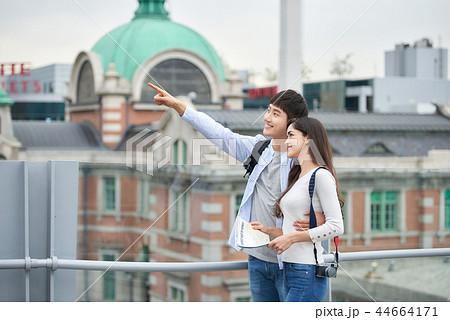 韓国人 韓国の人 旅行 44664171