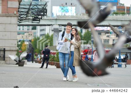 デート カップル 韓国人 44664242