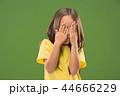 ポートレート 肖像 怖がるの写真 44666229
