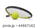 ラケット テニス 庭球のイラスト 44667162